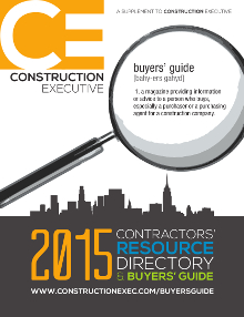 2015 Contractor's Resource Directory and Buyers Guide