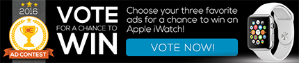 Vote for your favorite ads